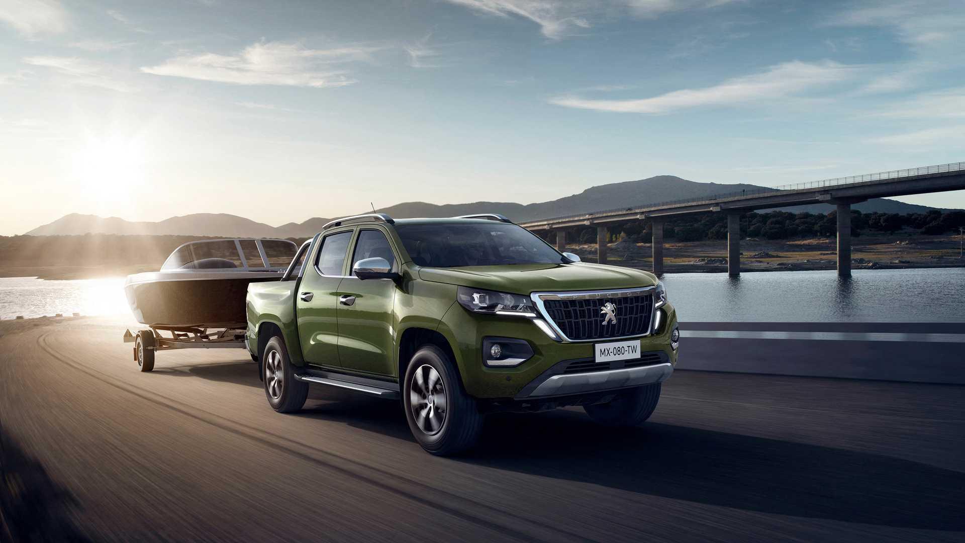 2021 Peugeot Landtrek Front Three-Quarter Wallpapers (1)