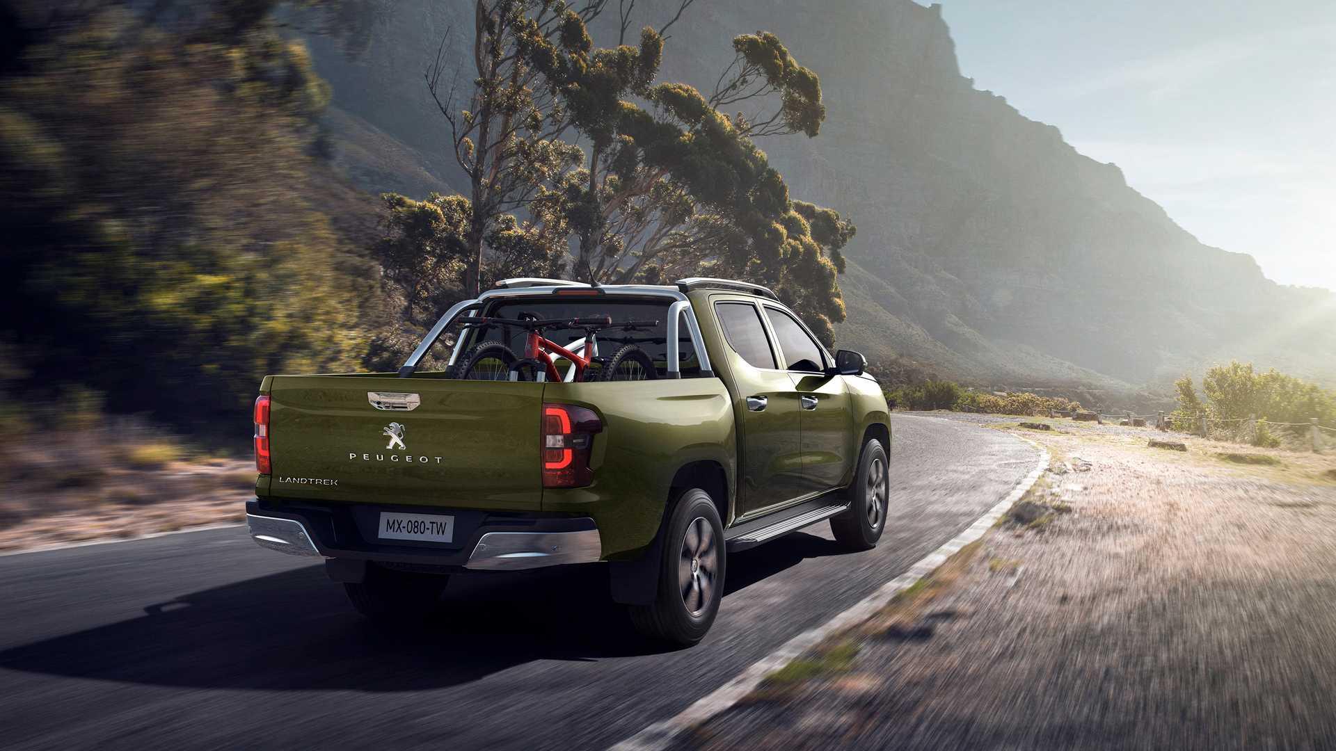 2021 Peugeot Landtrek Rear Three-Quarter Wallpapers (4)