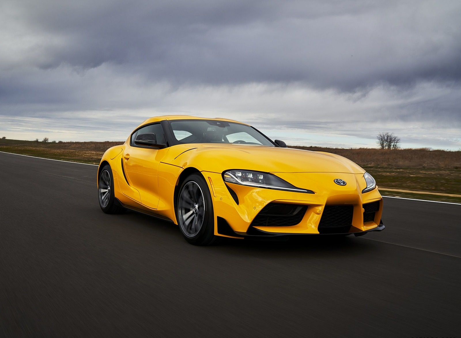 2021 Toyota GR Supra 2.0 Front Three-Quarter Wallpapers (3)