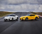 2021 Toyota GR Supra 2.0 and Toyota GR Supra 3.0 Front Three-Quarter Wallpapers 150x120 (4)