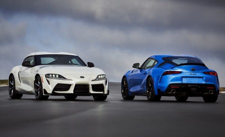 2021 Toyota GR Supra 3.0 Premium and Toyota GR Supra A91 Edition Wallpapers 450x275 (3)