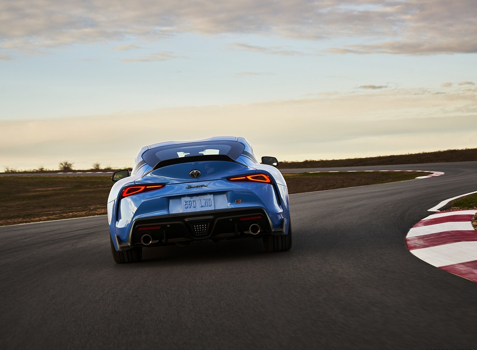 2021 Toyota GR Supra A91 Edition Rear Wallpapers (5)