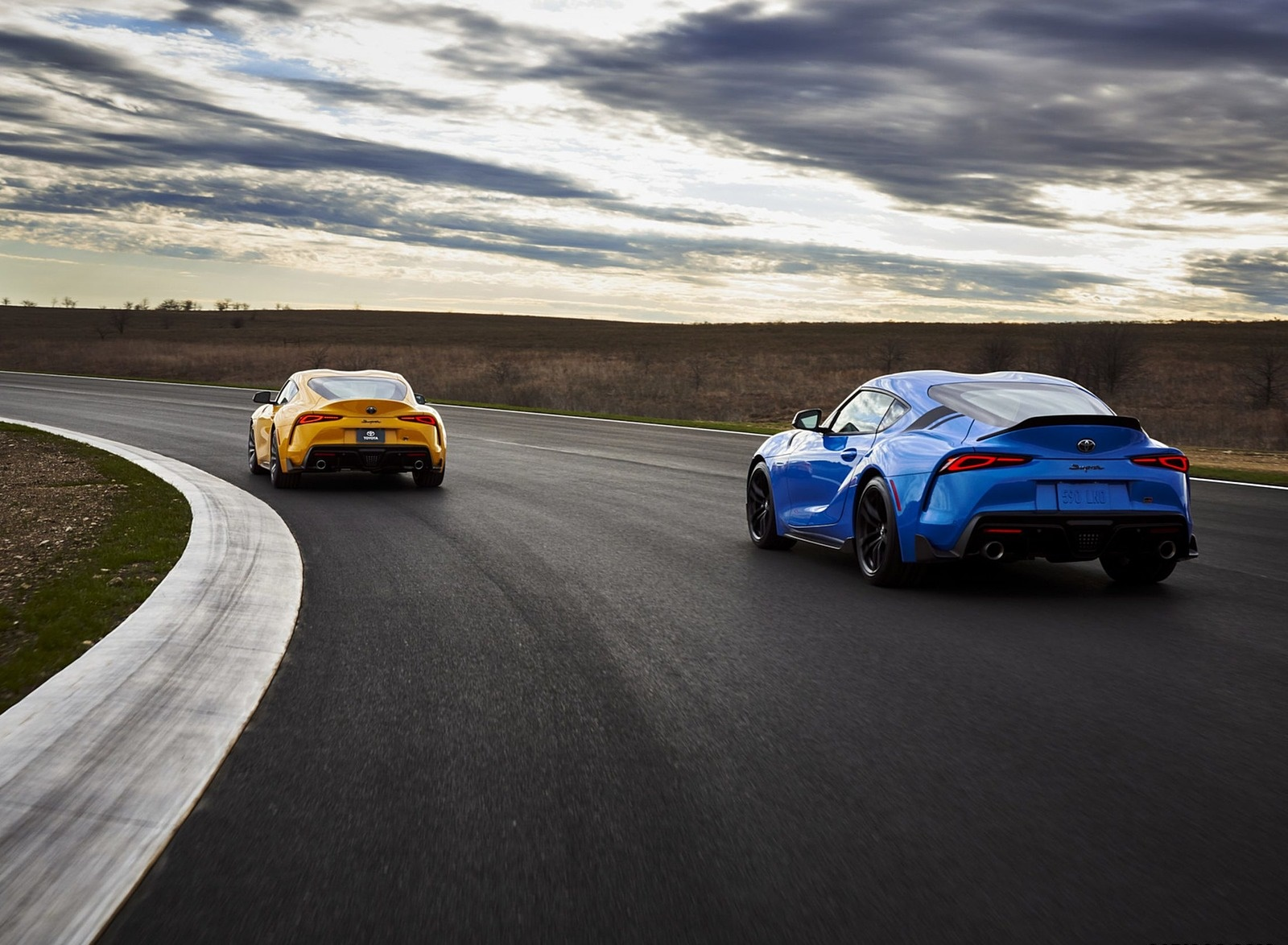 2021 Toyota GR Supra A91 Edition and Toyota GR Supra 2.0 Rear Three-Quarter Wallpapers (7)