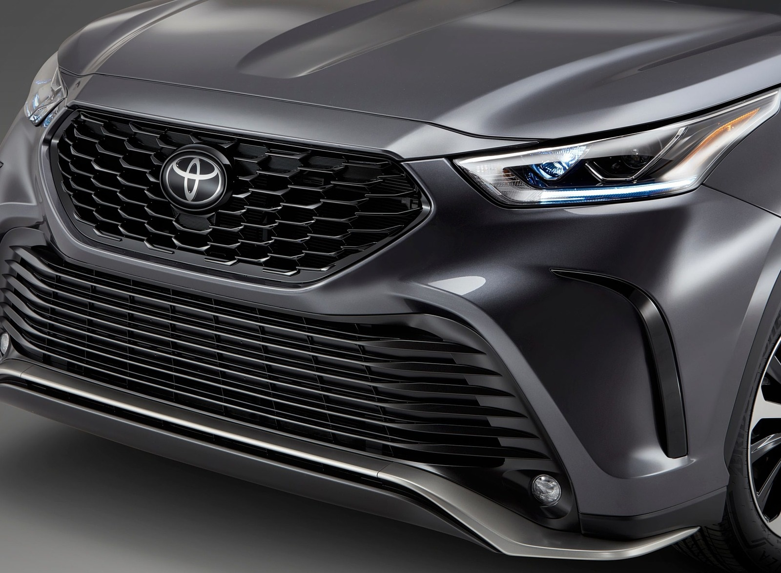 2021 Toyota Highlander XSE AWD Grill Wallpapers (7)