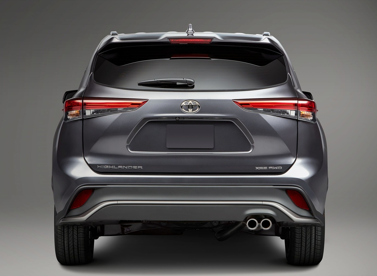2021 Toyota Highlander XSE AWD Rear Wallpapers (3)