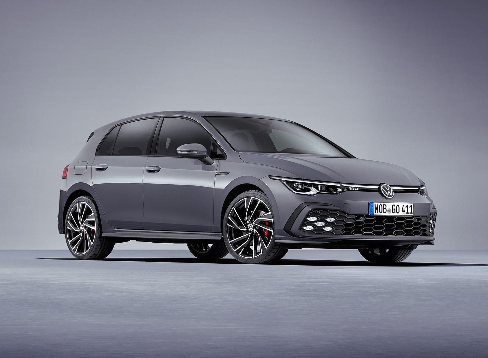 2021 Volkswagen Golf GTD Front Three-Quarter Wallpapers (1)