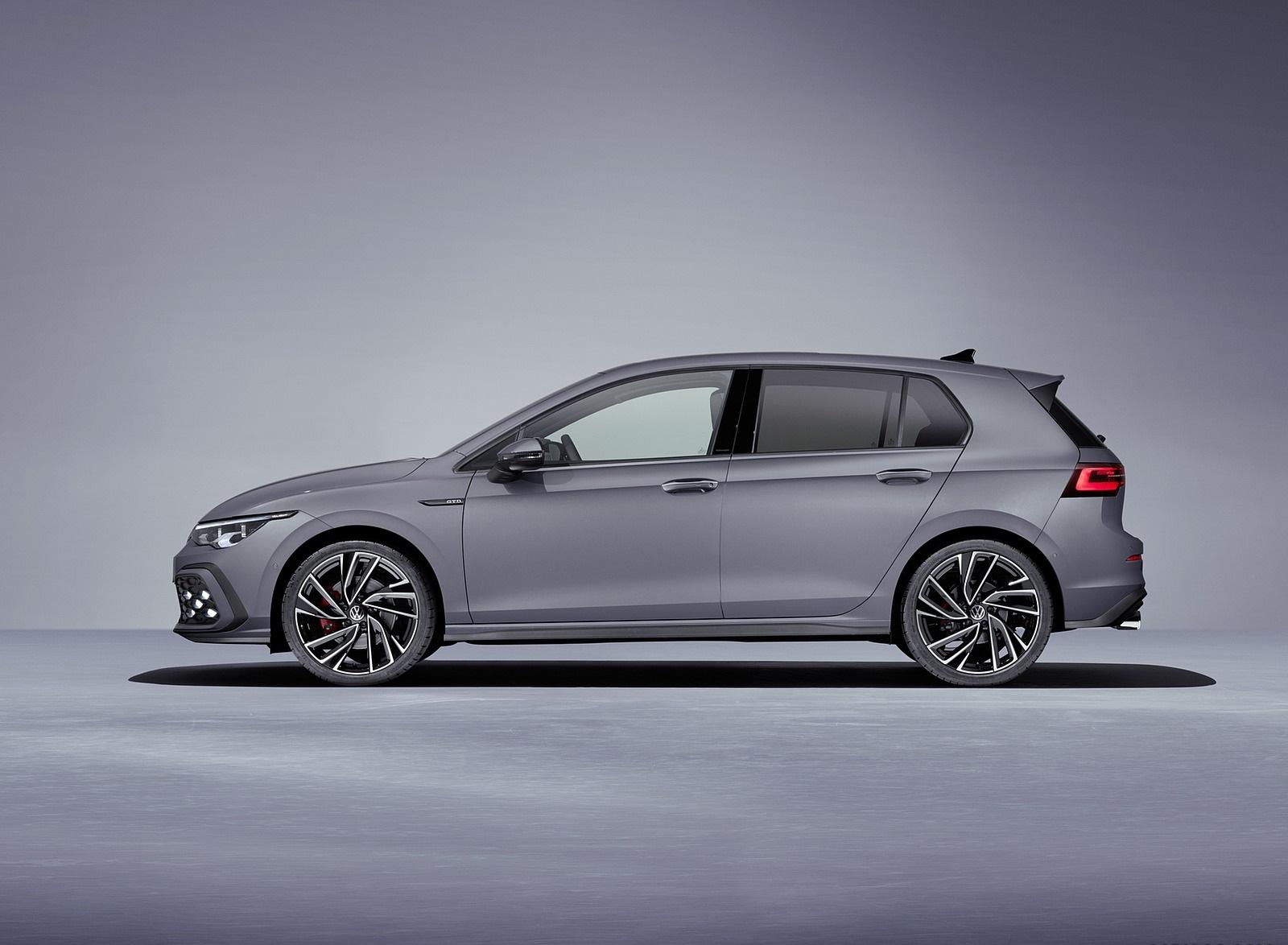 2021 Volkswagen Golf GTD Side Wallpapers (4)