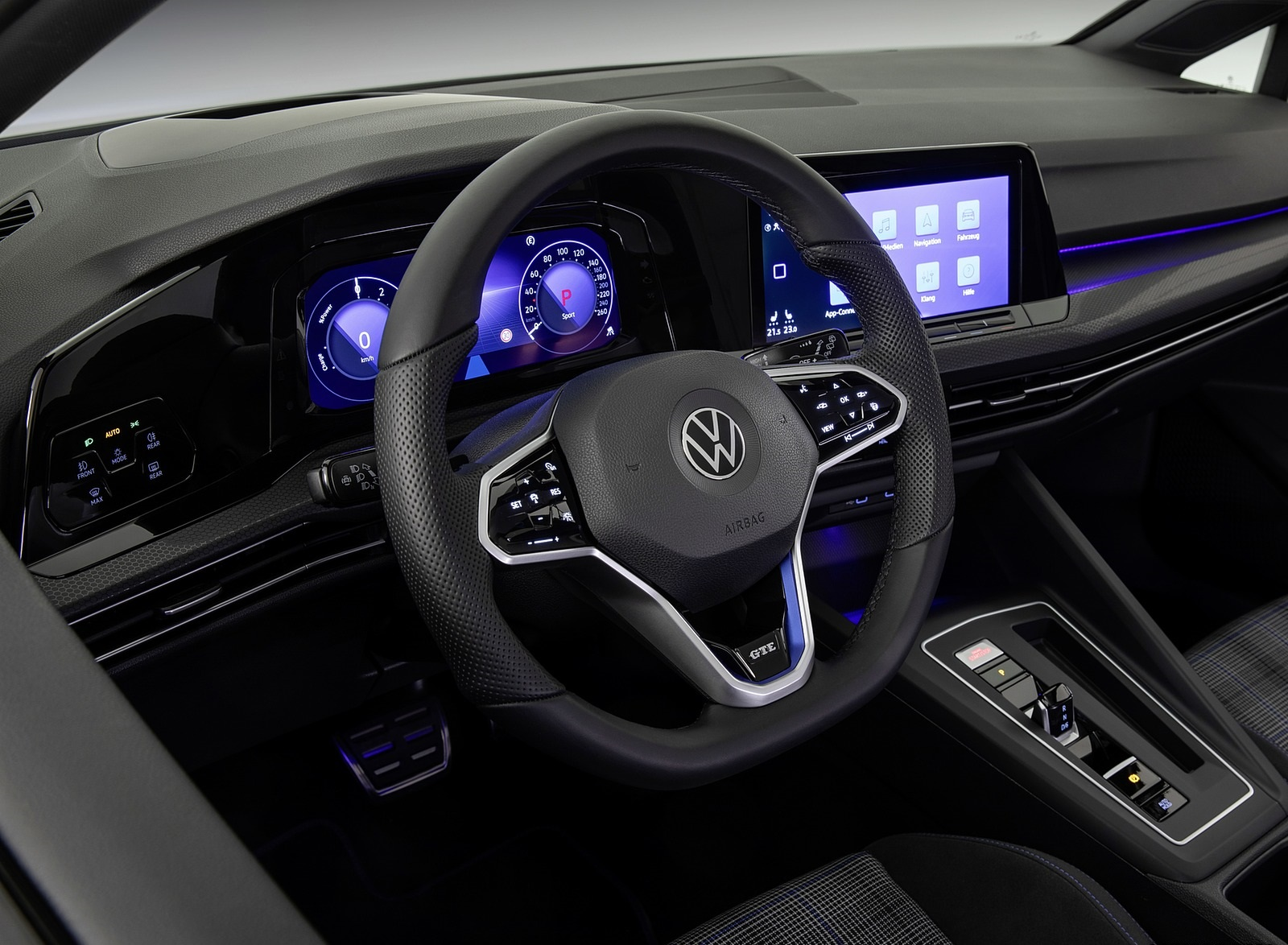 2021 Volkswagen Golf GTE Interior Wallpapers #15 of 16
