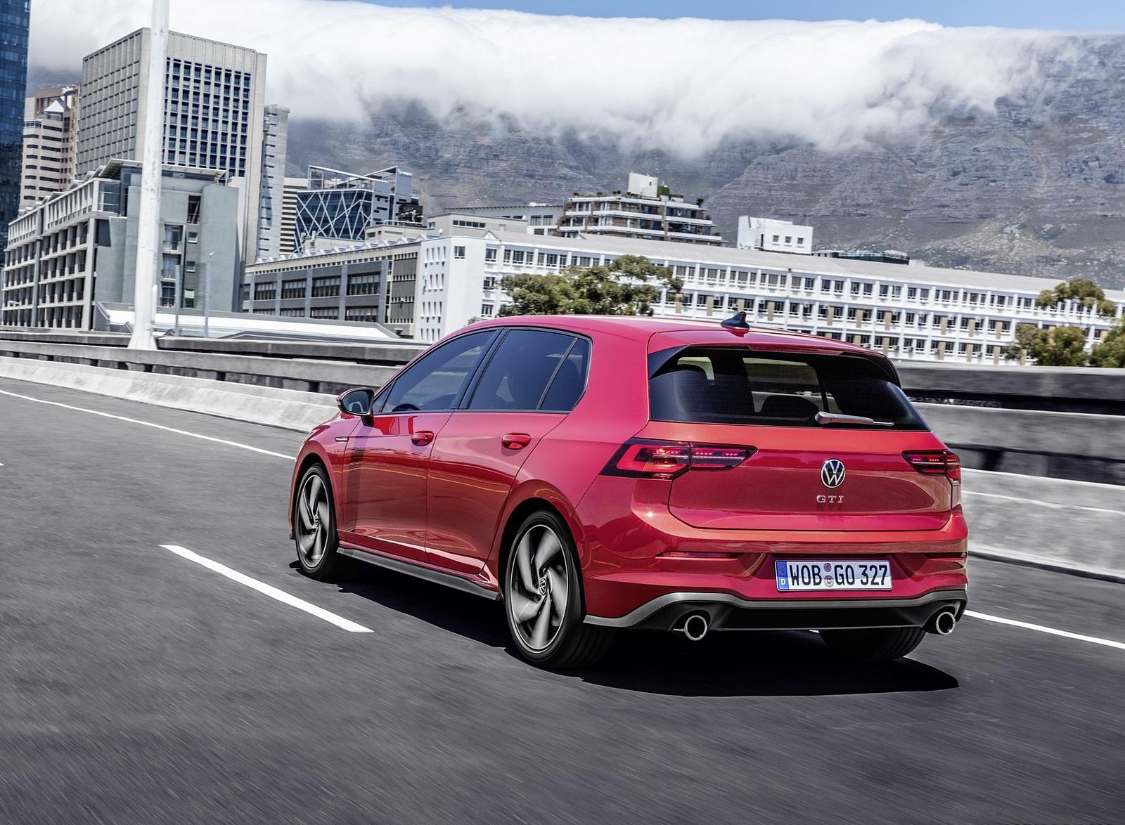 2021 Volkswagen Golf GTI Rear Three-Quarter Wallpapers (6)