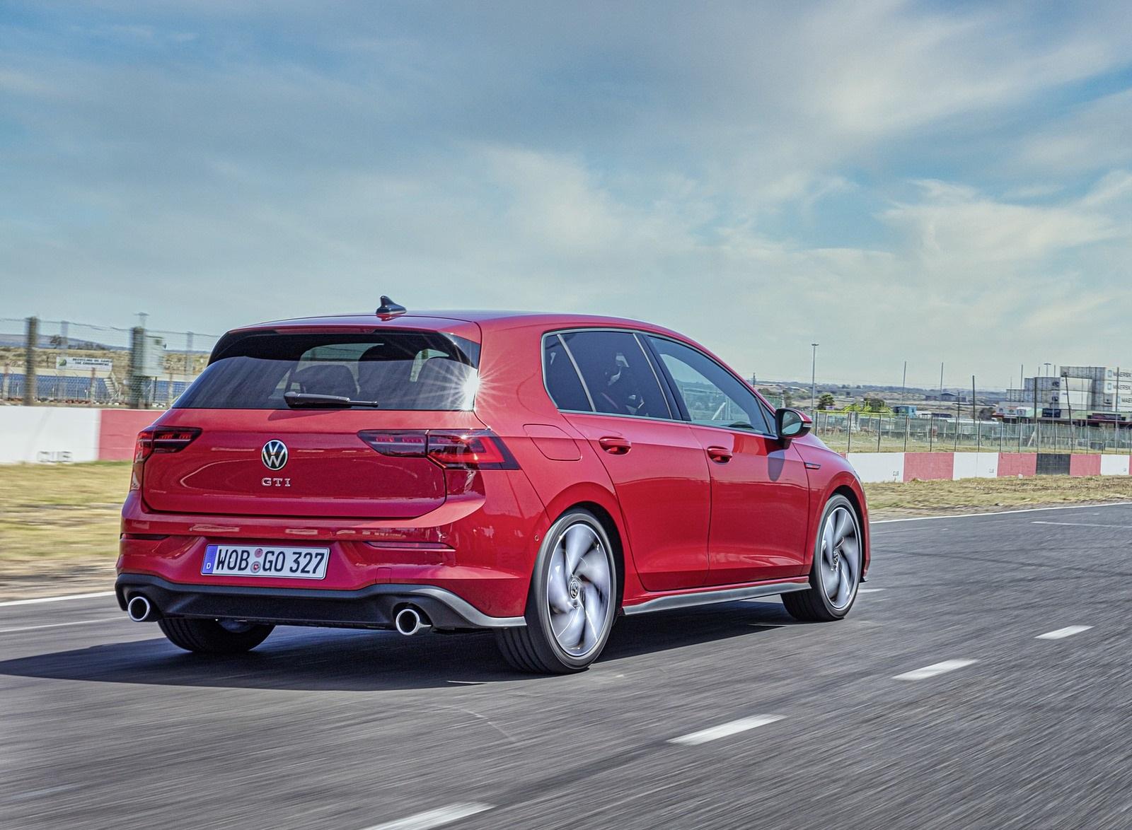 2021 Volkswagen Golf GTI Rear Three-Quarter Wallpapers (7)