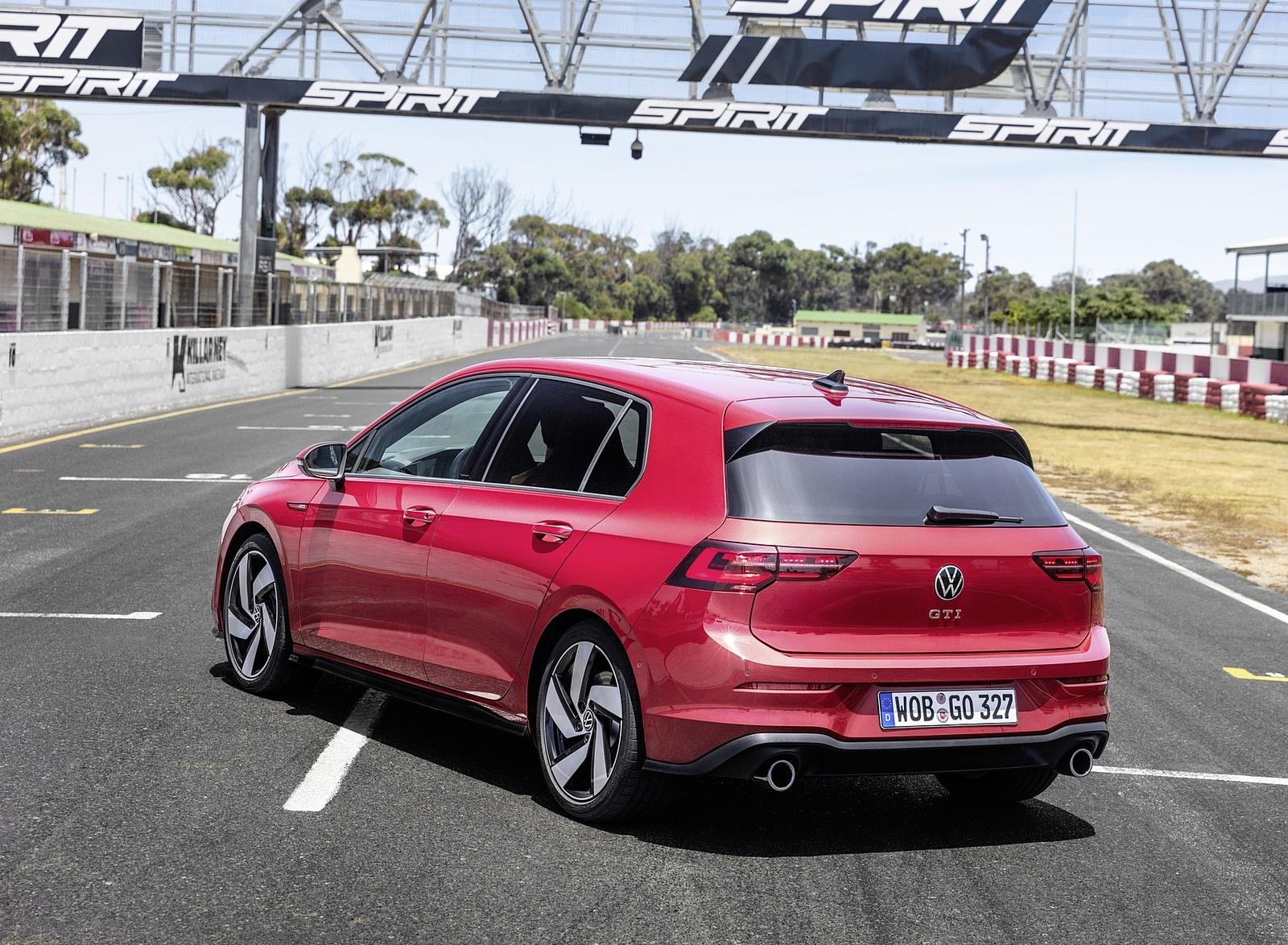 2021 Volkswagen Golf GTI Rear Three-Quarter Wallpapers (10)