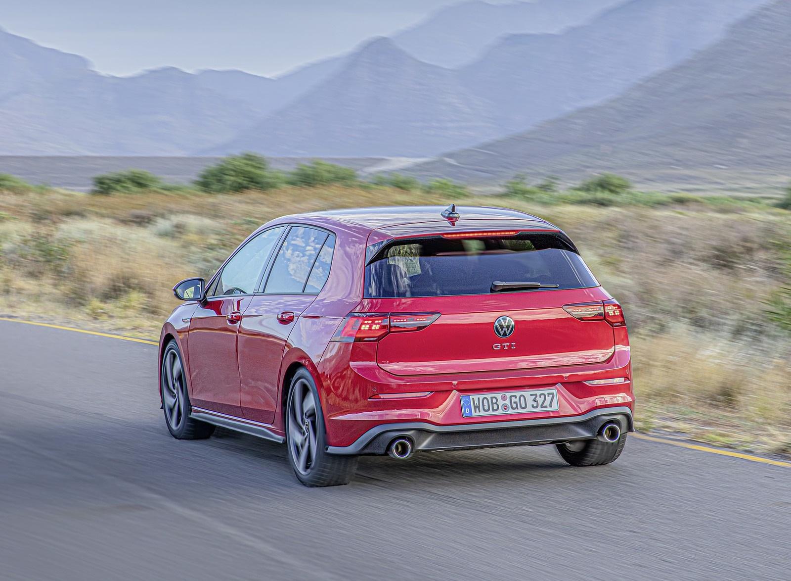 2021 Volkswagen Golf GTI Rear Three-Quarter Wallpapers (8)