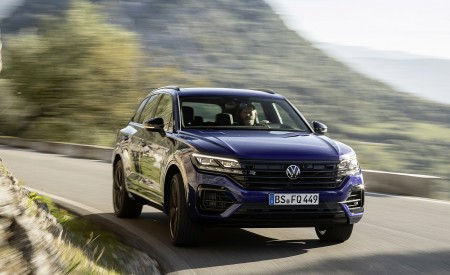 2021 Volkswagen Touareg R Plug-In Hybrid Front Wallpapers 450x275 (13)