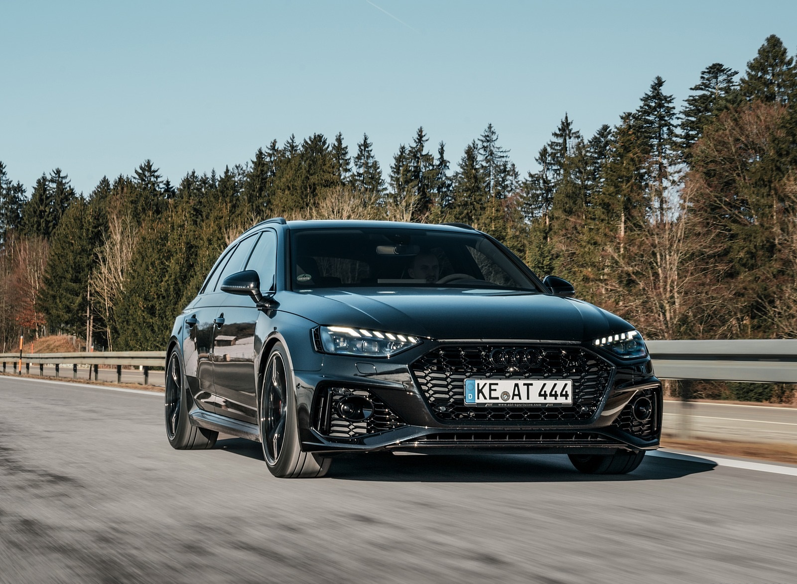 2020 ABT Audi RS 4 Power S Front Wallpapers (1)
