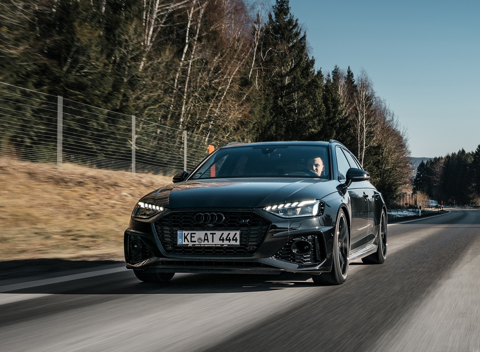 2020 ABT Audi RS 4 Power S Front Wallpapers (3)
