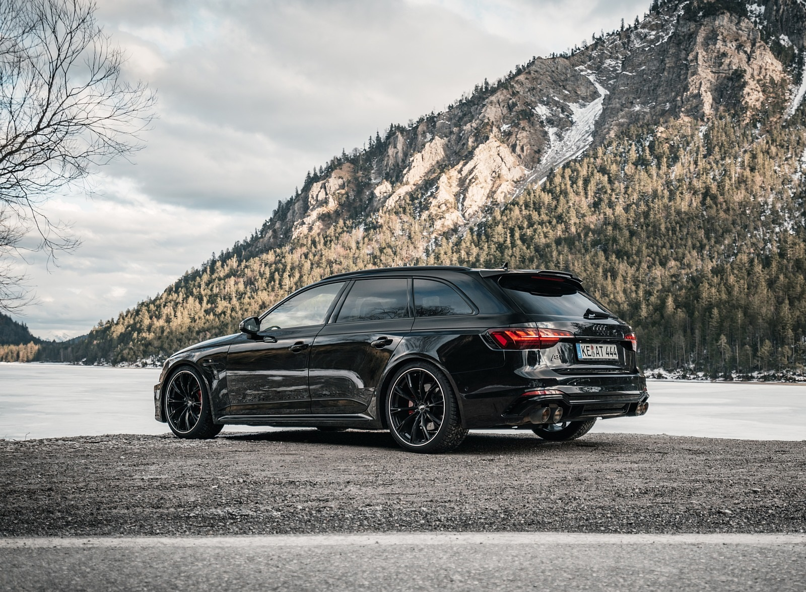 2020 ABT Audi RS 4 Power S Rear Three-Quarter Wallpapers (5)