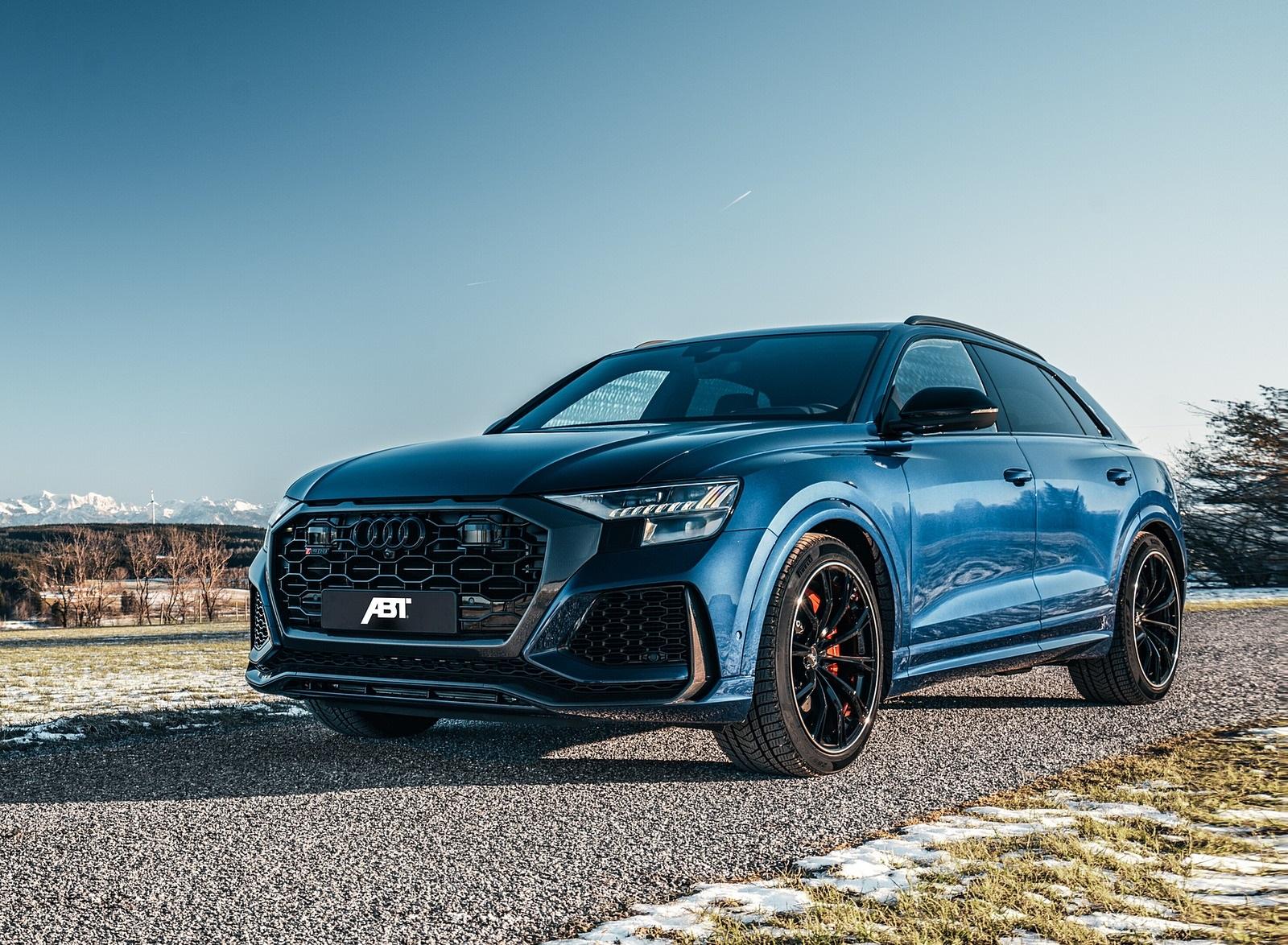 2020 ABT Audi RS Q8 Front Three-Quarter Wallpapers (4)