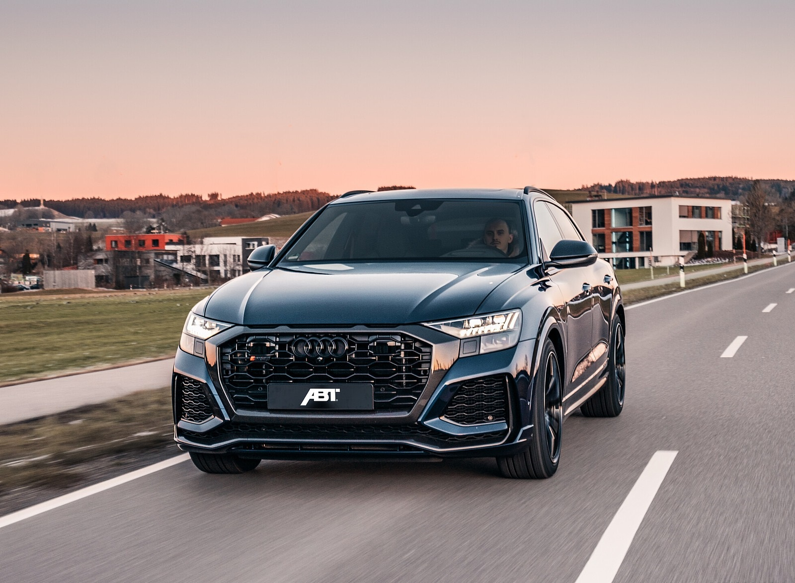 2020 ABT Audi RS Q8 Front Wallpapers (1)