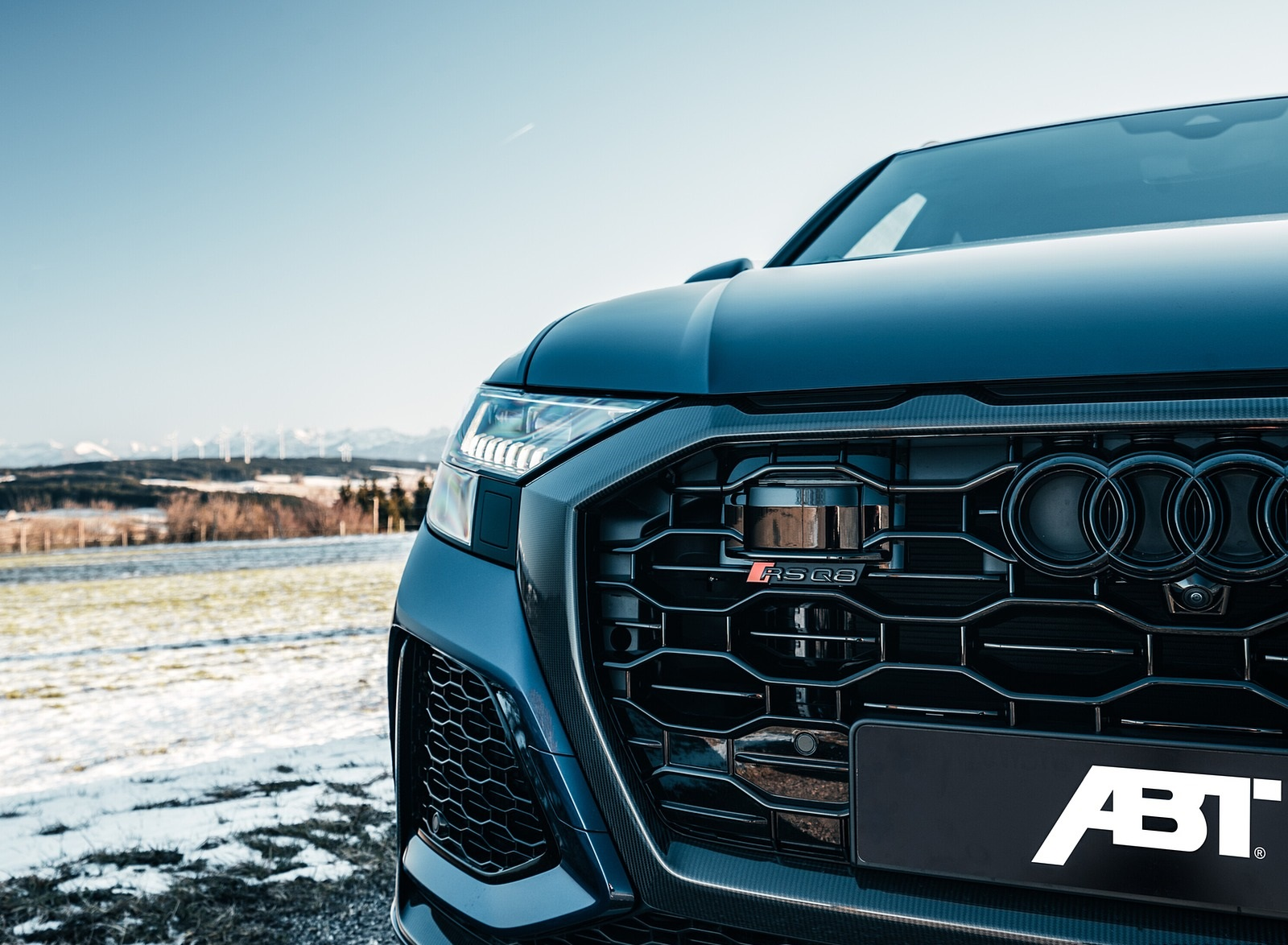 2020 ABT Audi RS Q8 Grill Wallpapers (8)