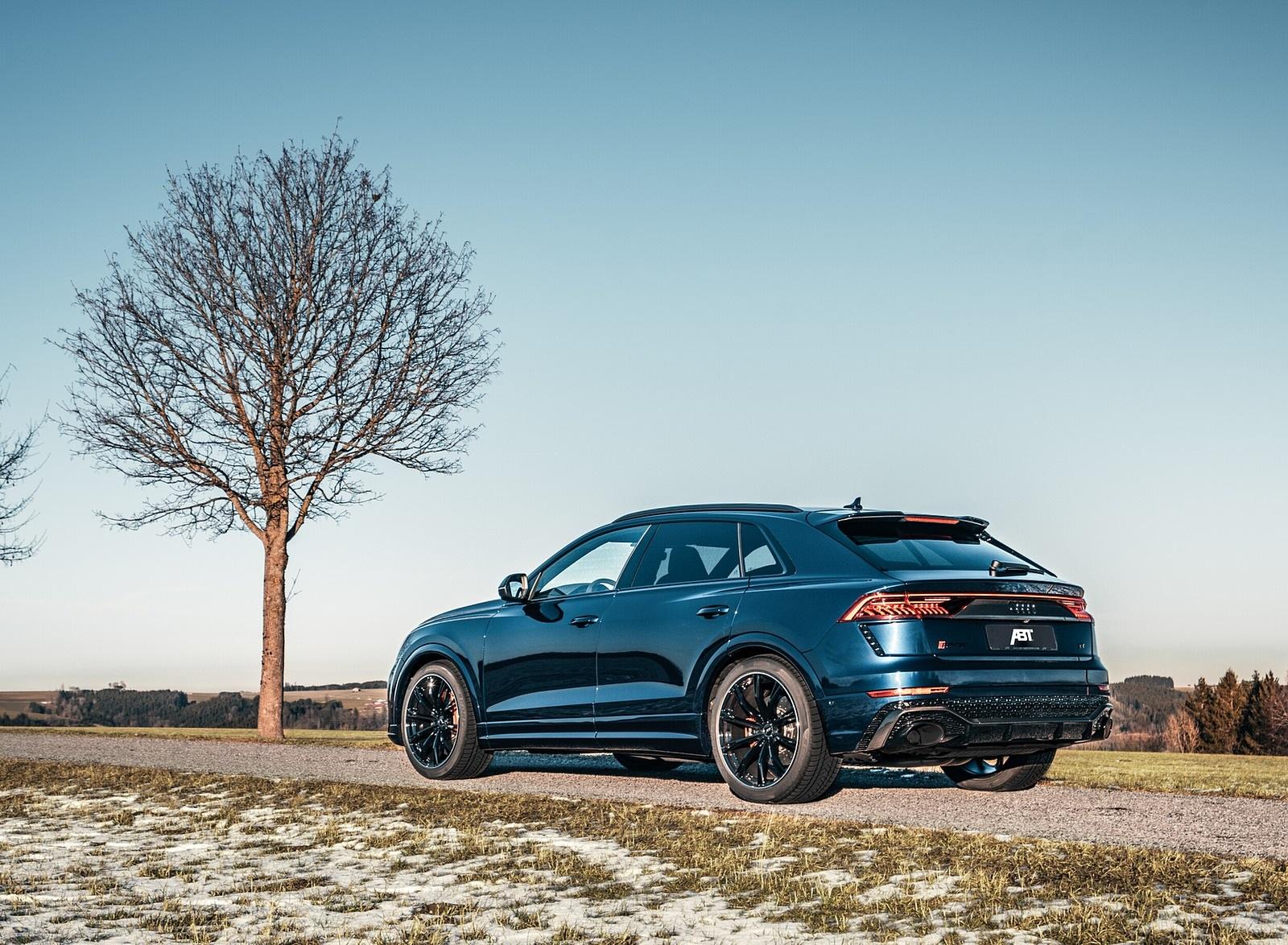 2020 ABT Audi RS Q8 Rear Three-Quarter Wallpapers (5)