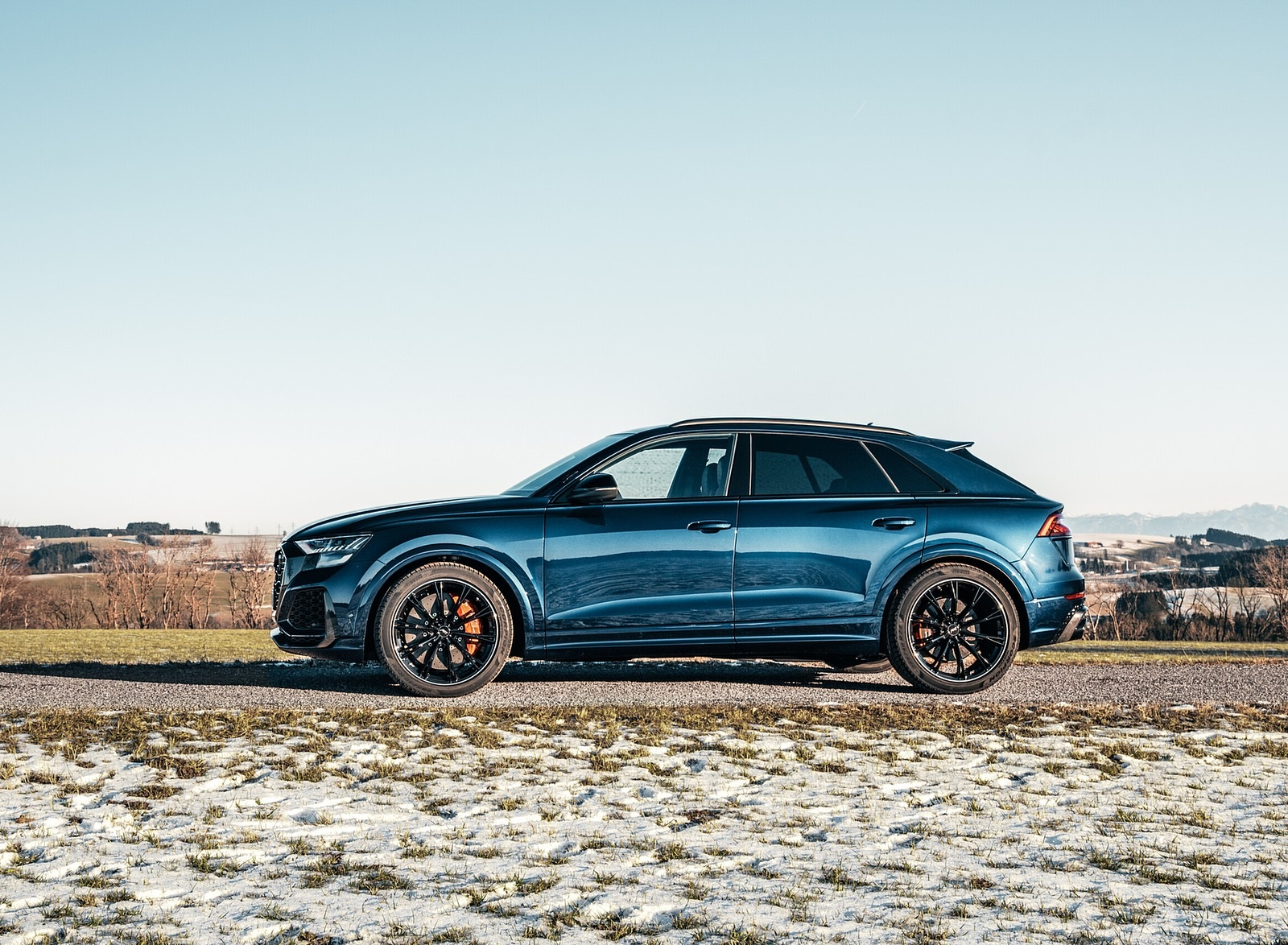2020 ABT Audi RS Q8 Side Wallpapers (6)