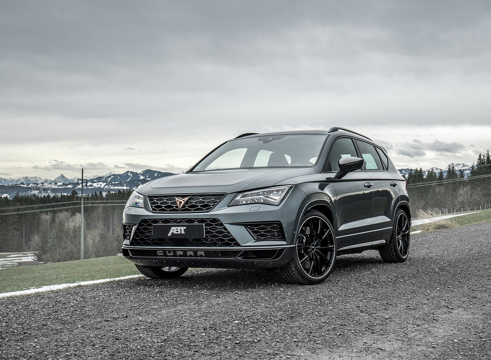 2020 ABT CUPRA Ateca Front Three-Quarter Wallpapers (2)