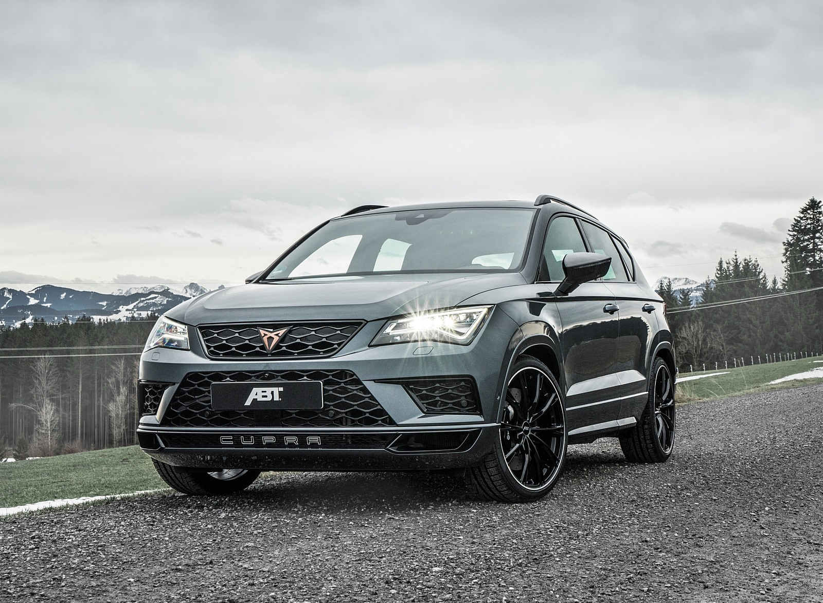 2020 ABT CUPRA Ateca Front Wallpapers (1)