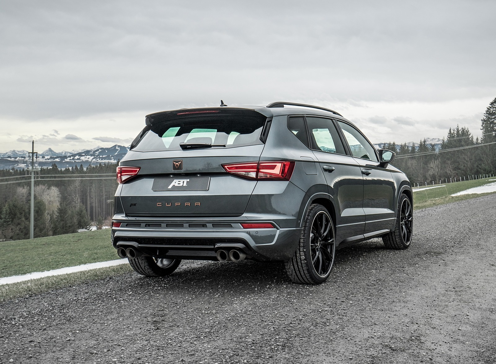 2020 ABT CUPRA Ateca Rear Three-Quarter Wallpapers (3)