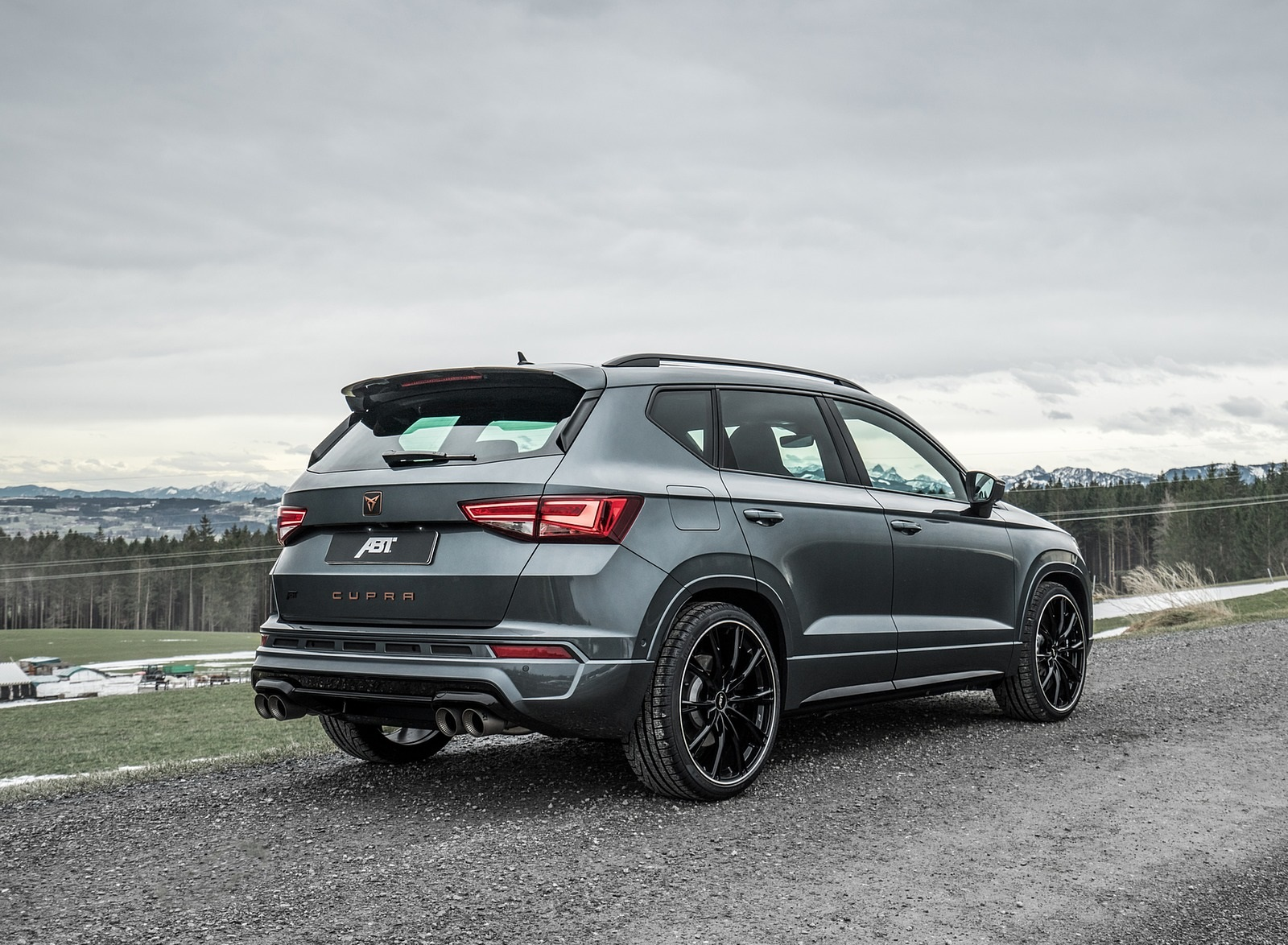 2020 ABT CUPRA Ateca Rear Three-Quarter Wallpapers (4)