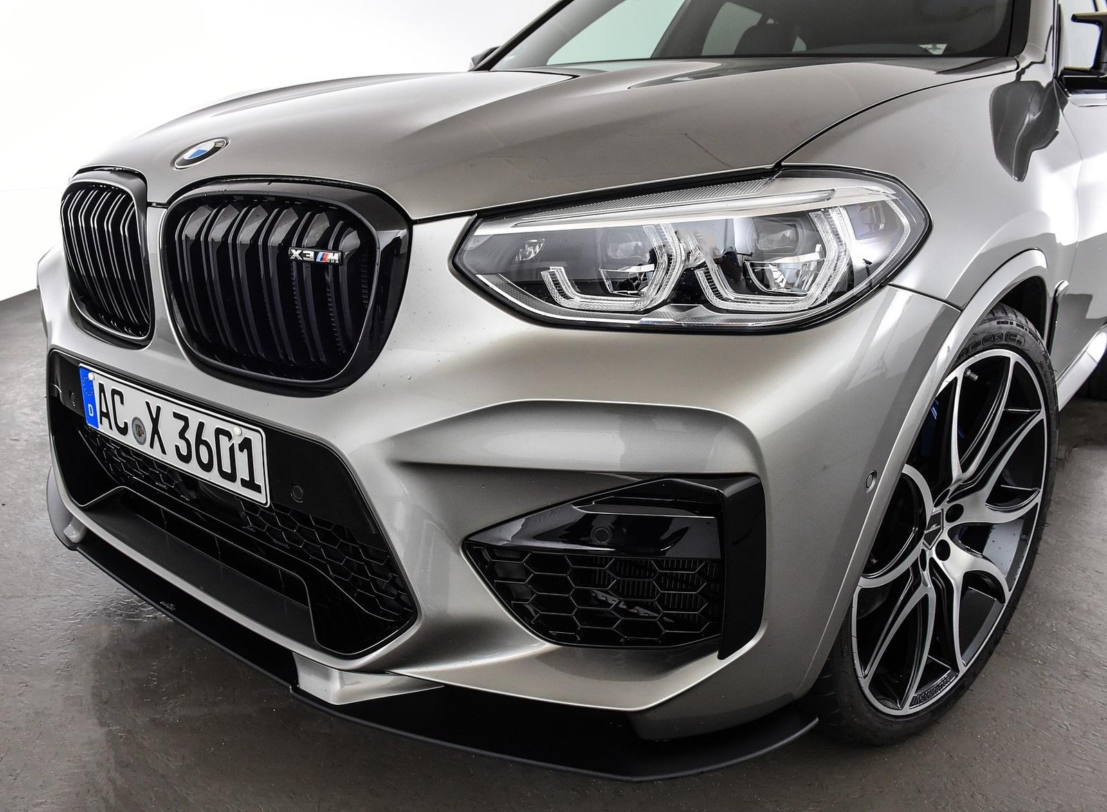 2020 AC Schnitzer BMW X3 M Front Bumper Wallpapers (10)