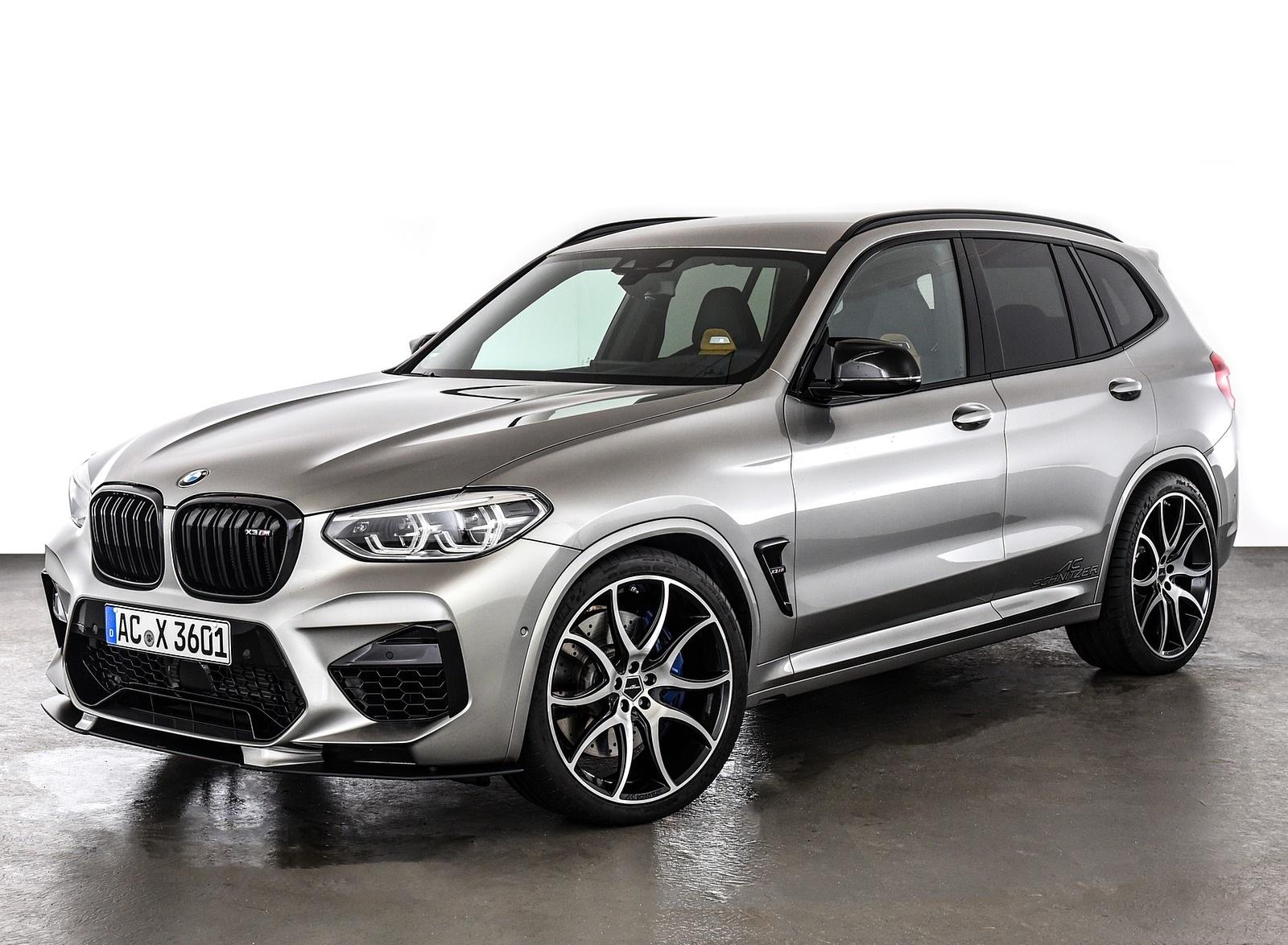 2020 AC Schnitzer BMW X3 M Front Three-Quarter Wallpapers (6)