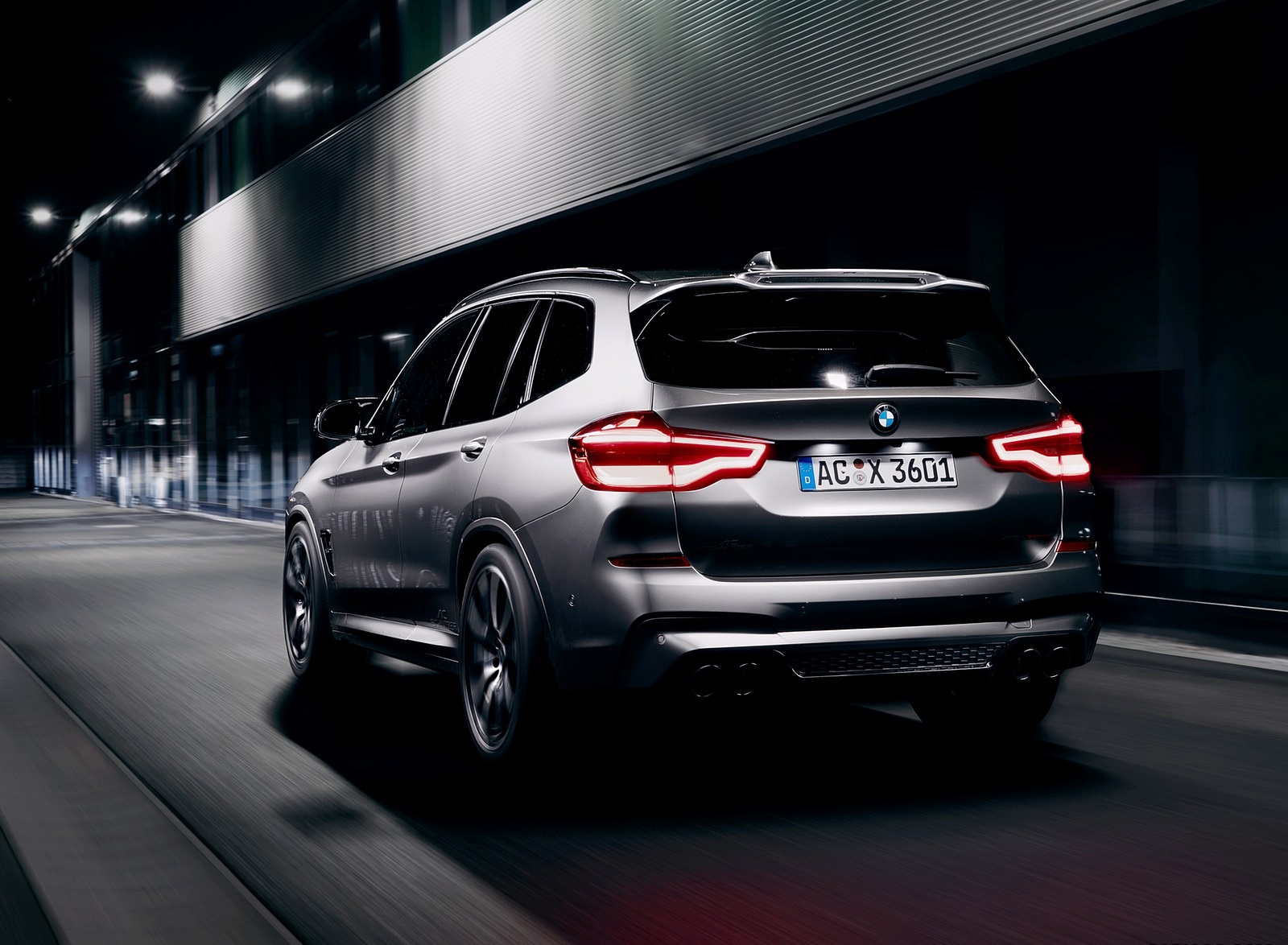 2020 AC Schnitzer BMW X3 M Rear Three-Quarter Wallpapers (3)