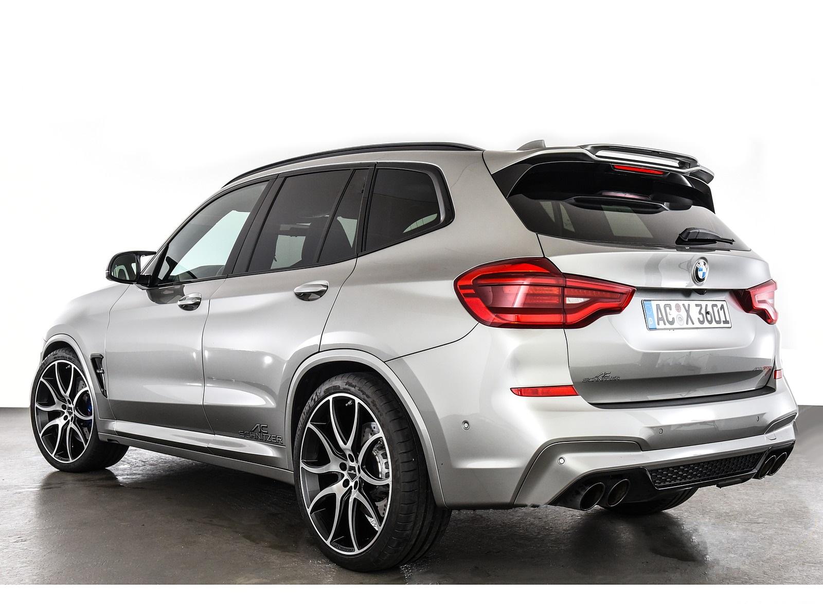 2020 AC Schnitzer BMW X3 M Rear Three-Quarter Wallpapers (8)
