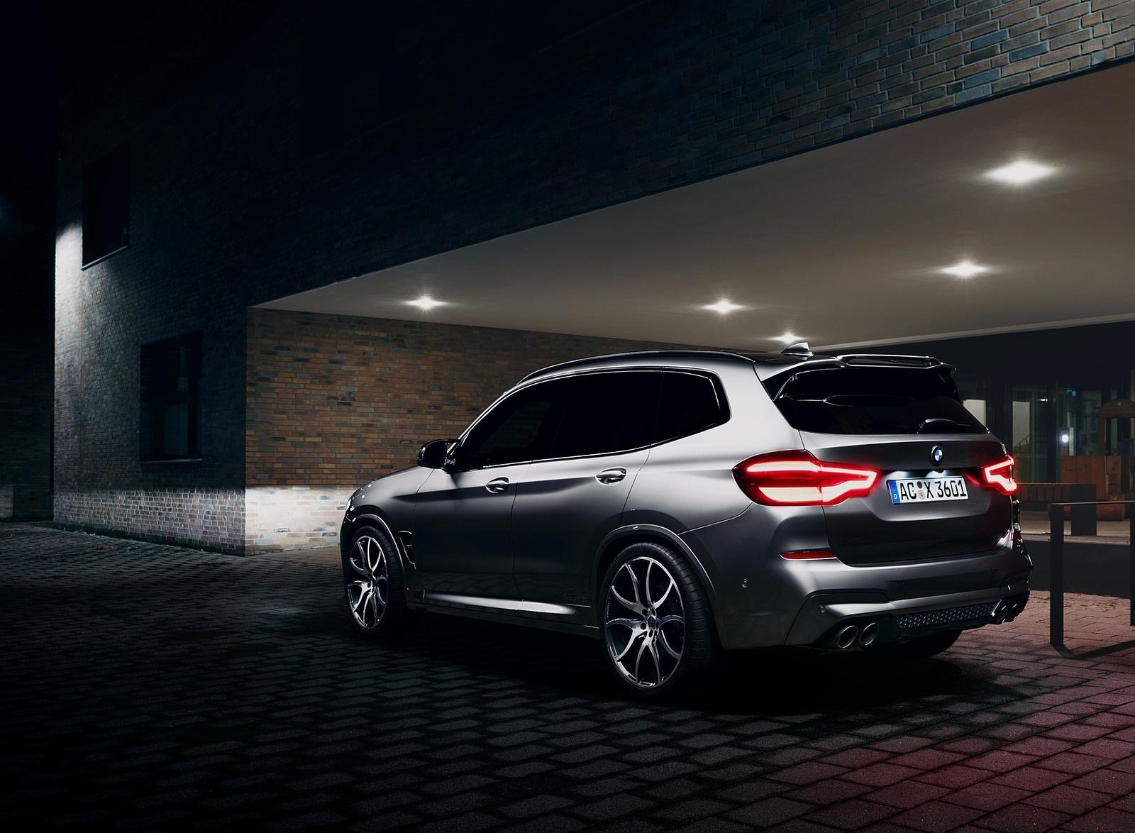 2020 AC Schnitzer BMW X3 M Rear Three-Quarter Wallpapers (4)