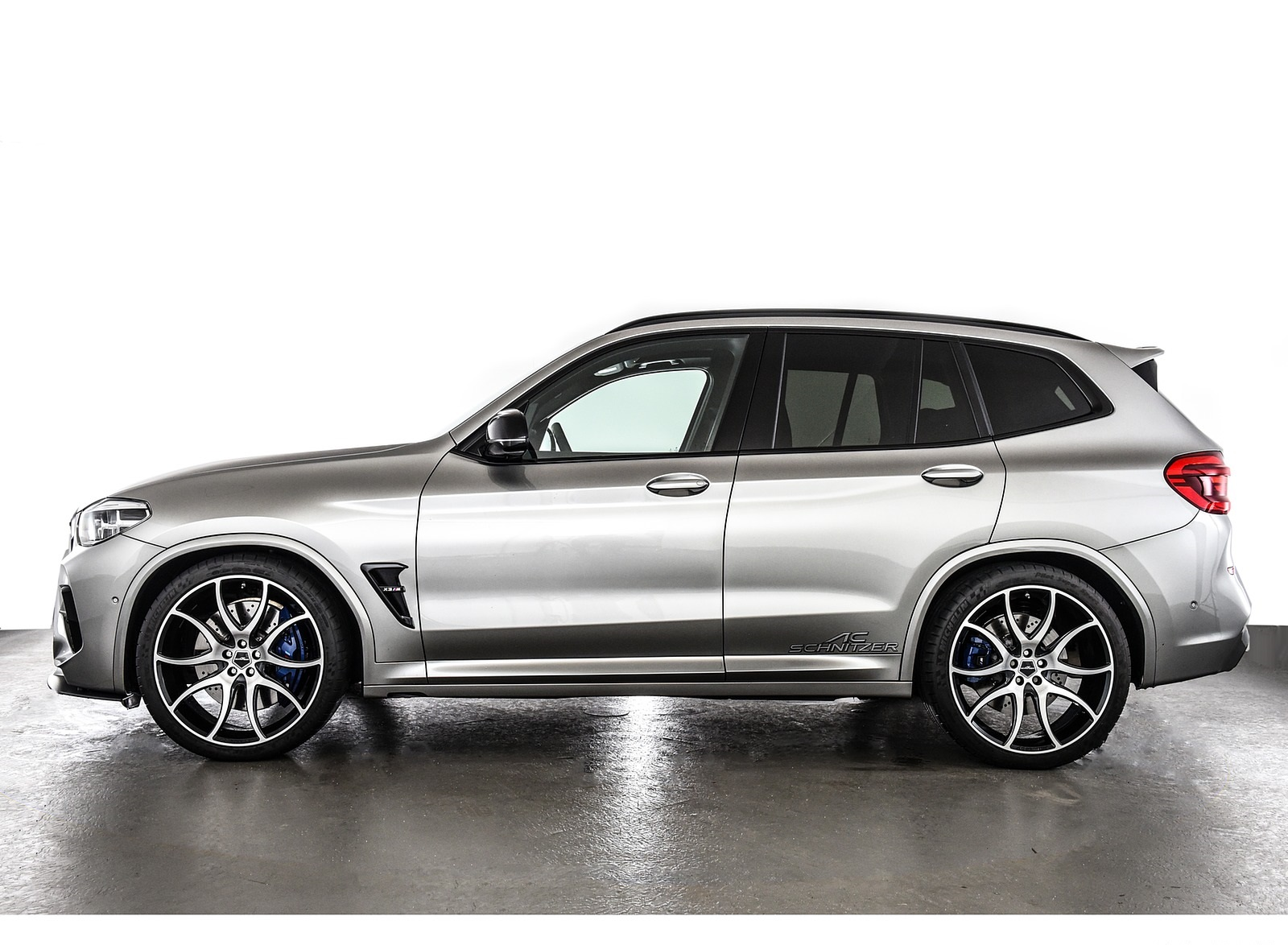 2020 AC Schnitzer BMW X3 M Side Wallpapers (9)