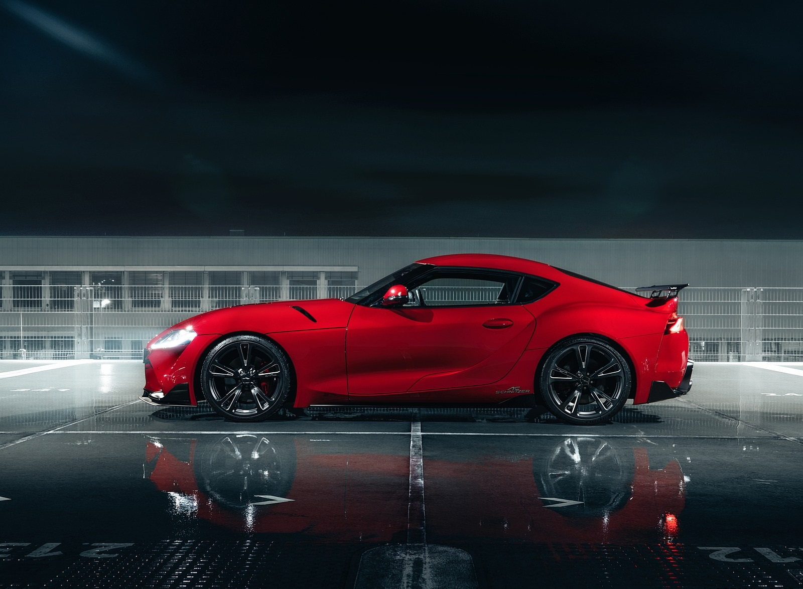 2020 AC Schnitzer Toyota GR Supra Side Wallpapers (6)