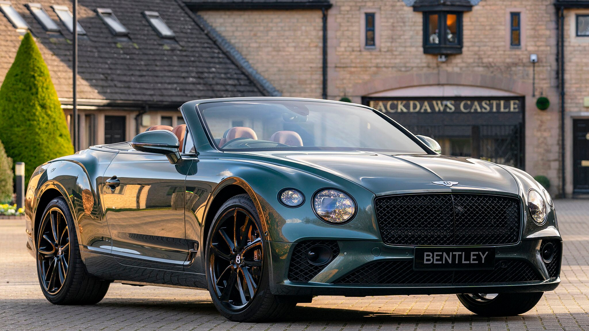 2020 Bentley Continental GT Convertible Equestrian Edition Front Wallpapers (3)