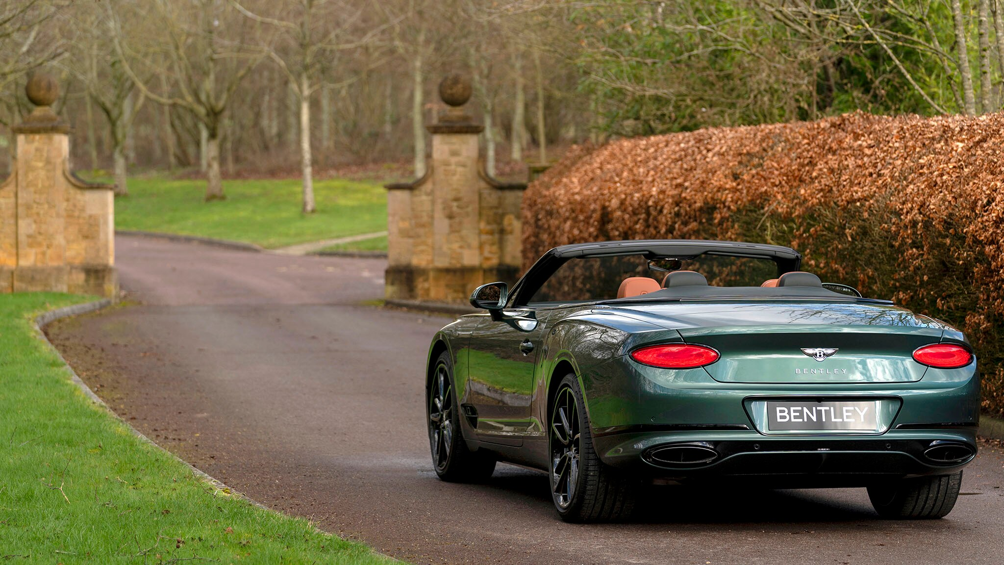 2020 Bentley Continental GT Convertible Equestrian Edition Rear Wallpapers (2)