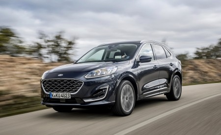 2020 Ford Kuga Hybrid Vignale Wallpapers HD