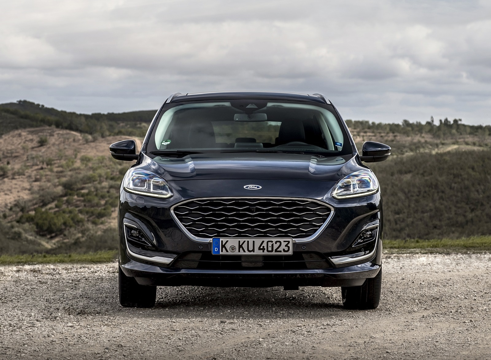 2020 Ford Kuga Hybrid Vignale Front Wallpapers (8)