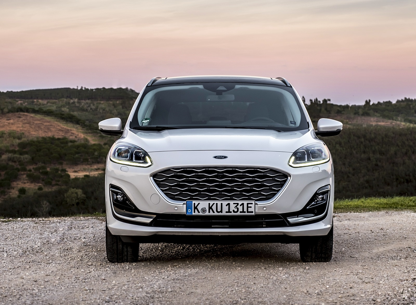 2020 Ford Kuga Plug-In Hybrid Vignale Front Wallpapers (9)