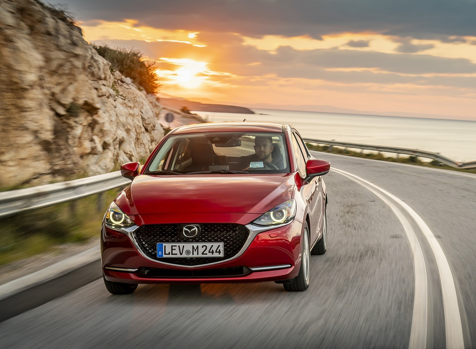 2020 Mazda2 (Color: Red Crystal) Front Wallpapers (6)