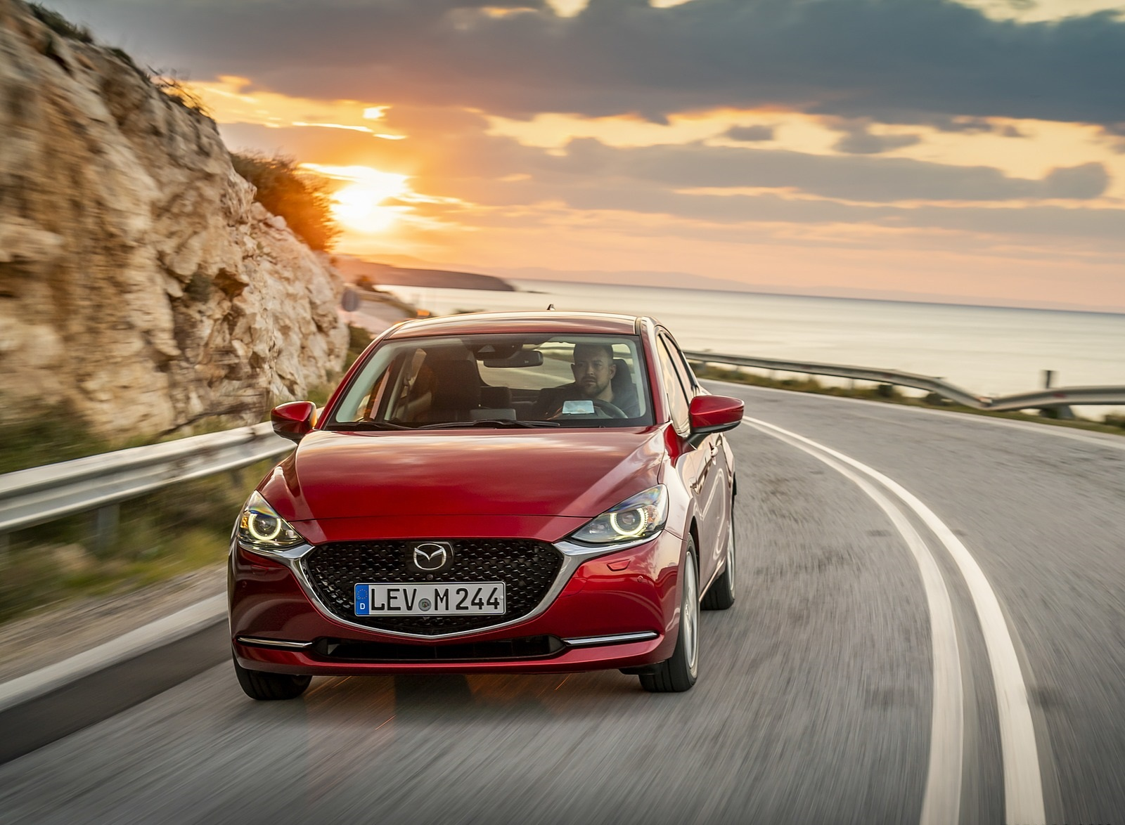 2020 Mazda2 (Color: Red Crystal) Front Wallpapers (7)