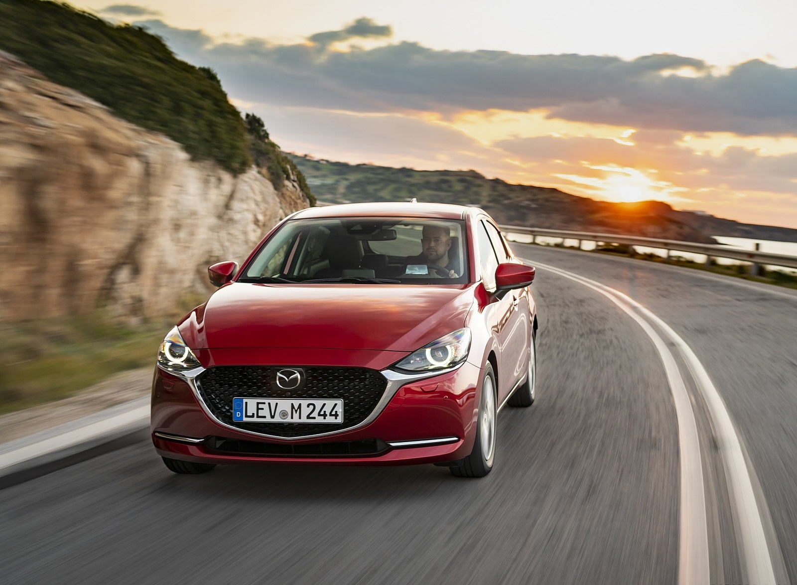 2020 Mazda2 (Color: Red Crystal) Front Wallpapers (8)