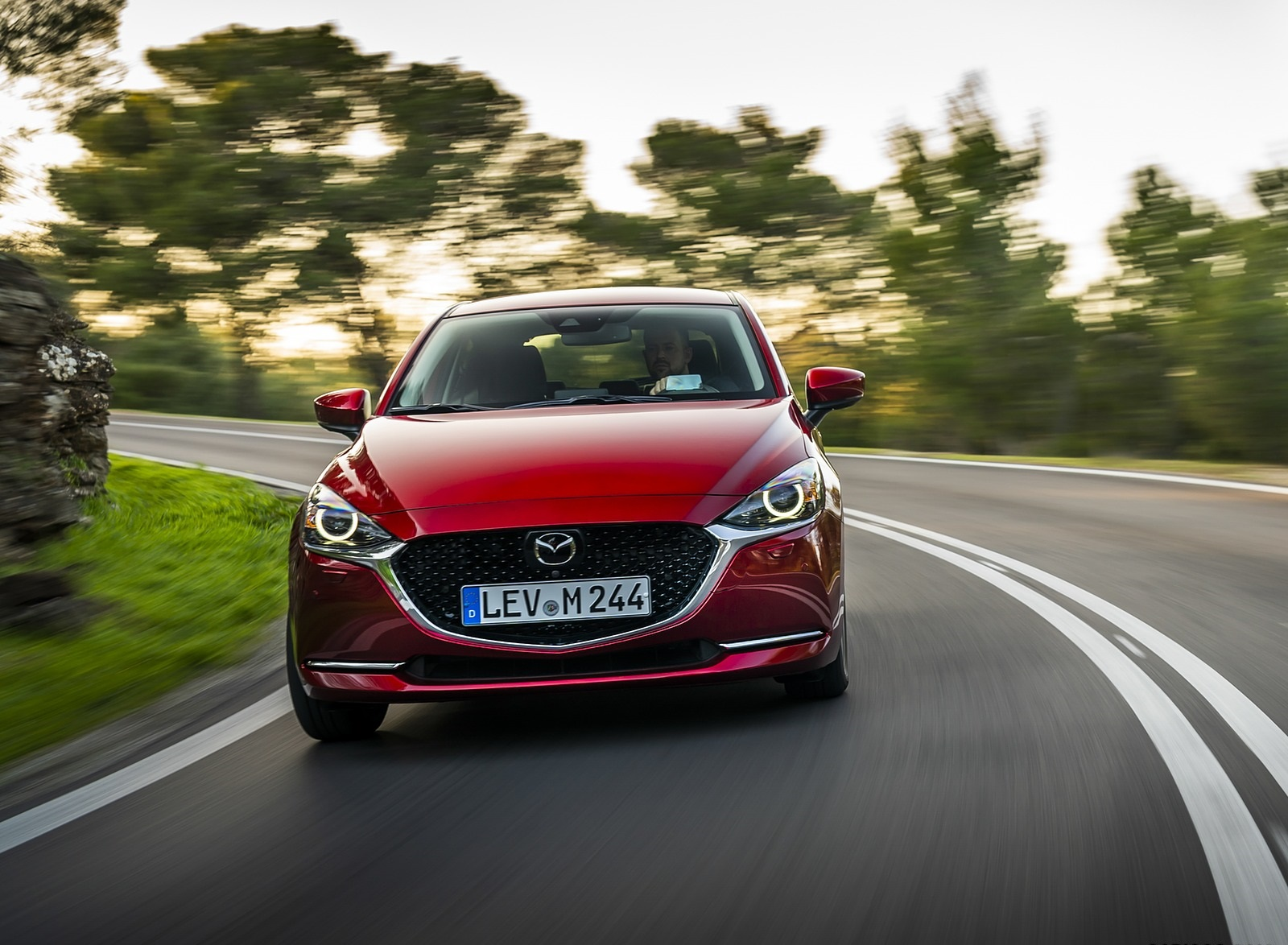 2020 Mazda2 (Color: Red Crystal) Front Wallpapers (9)