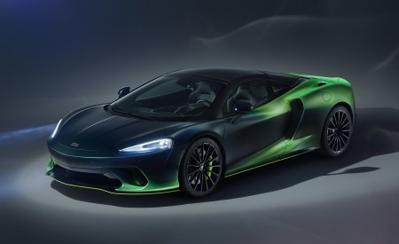 2020 McLaren GT Verdant Theme By MSO Wallpapers HD