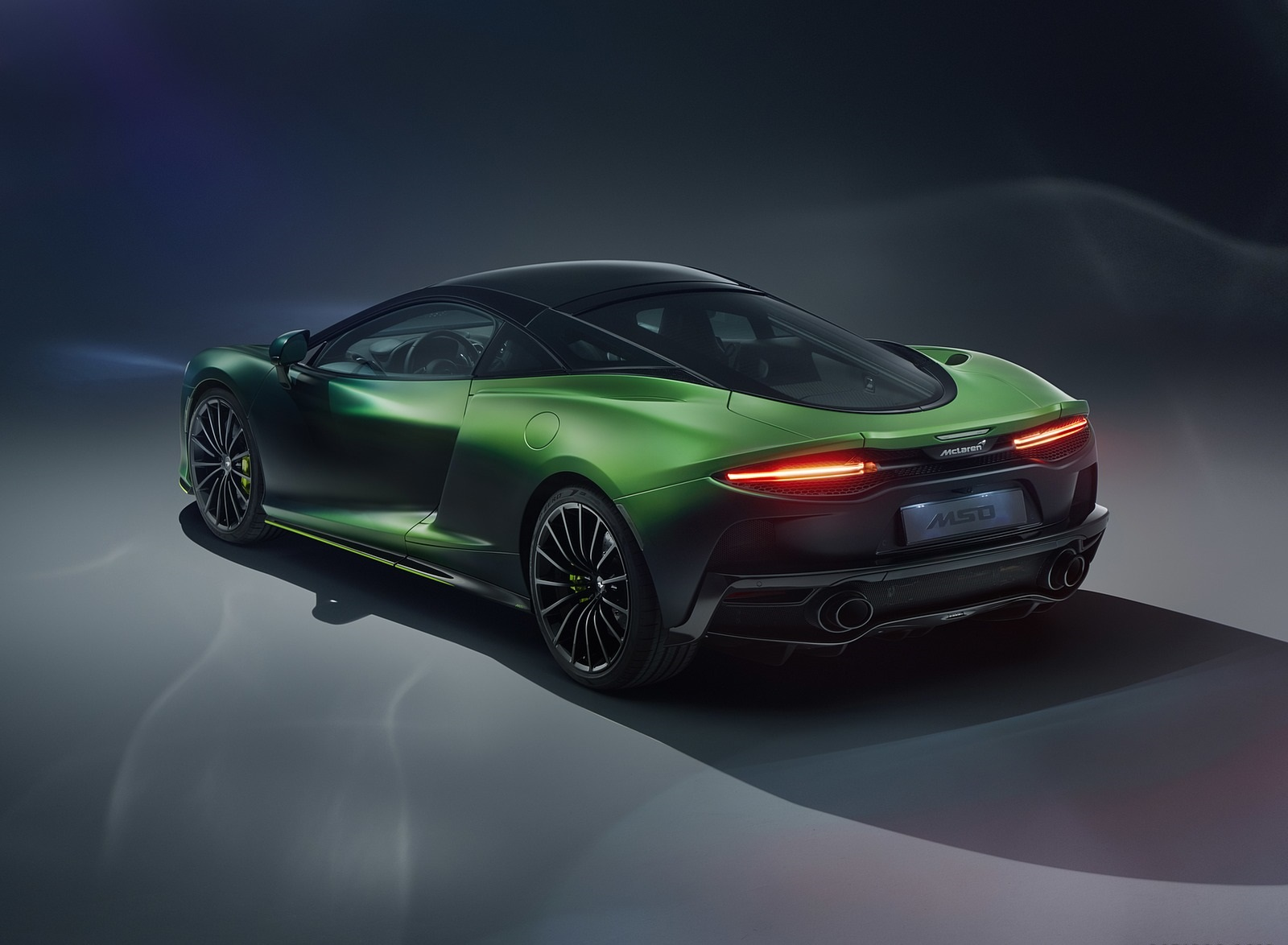 2020 McLaren GT Verdant Theme by MSO Rear Three-Quarter Wallpapers (3)
