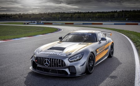 2020 Mercedes-AMG GT4 Front Three-Quarter Wallpapers 450x275 (5)
