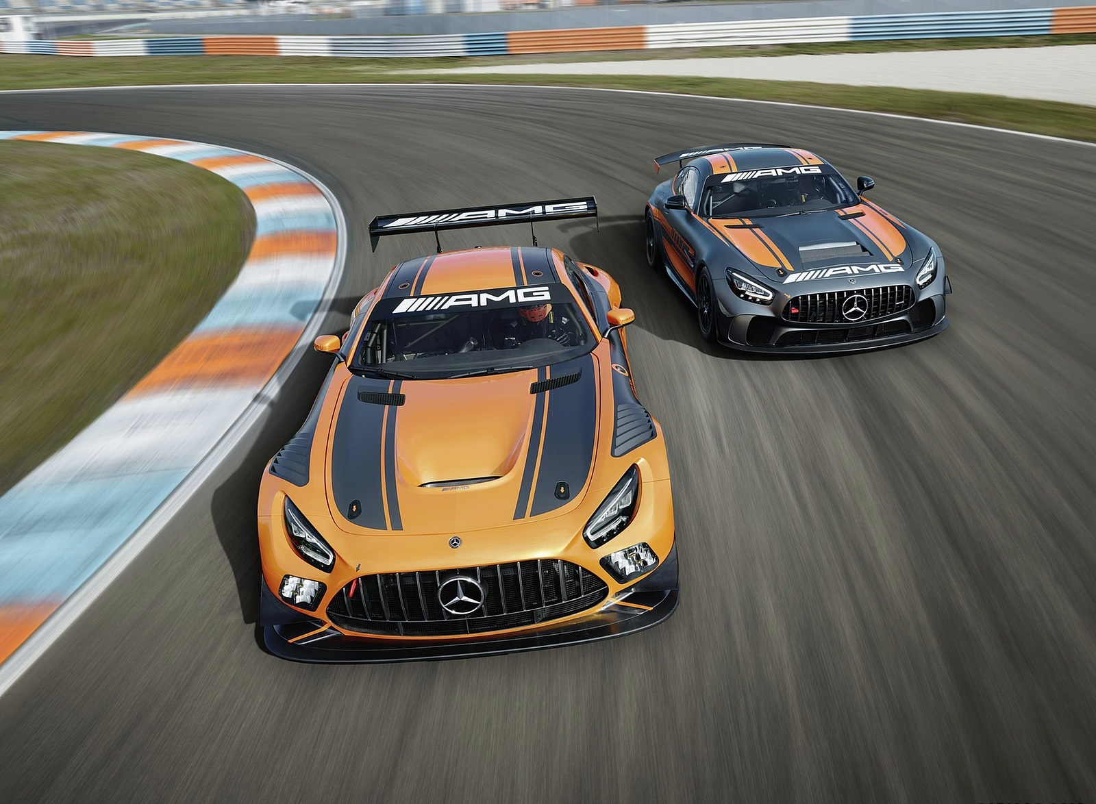 2020 Mercedes-AMG GT4 Front Wallpapers (1)