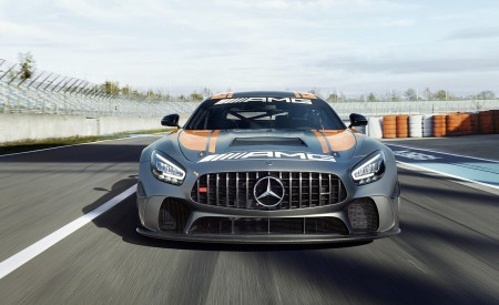 2020 Mercedes-AMG GT4 Front Wallpapers 450x275 (3)